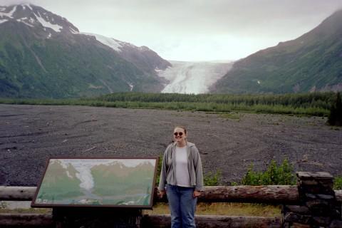 Me at Exit Glacier, 2003