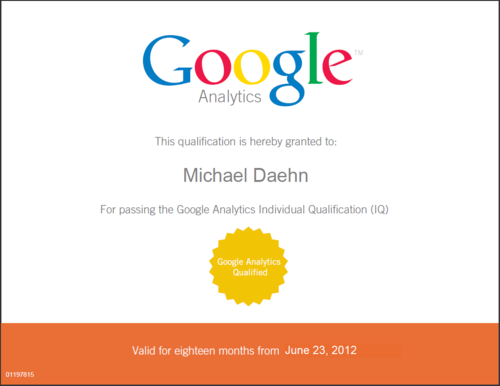HOW TO: Pass the Google Analytics Individual Qualification (IQ) test ...