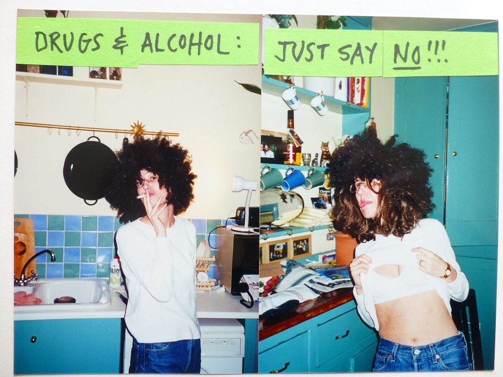 Because one wig is never enough... (Photos by Vic, early 90s, London)
