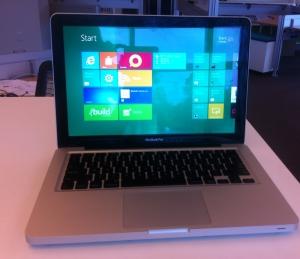 Windows 8 on a MacBook Pro!