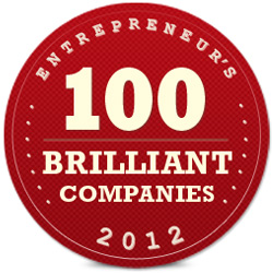 "We are honored to be included in this year's Brilliant 100 from Entrepreneur Magazine, their annual round up of ""the brightest ideas, the hottest industries and the most insightful innovators."" We are focused on delivering total break through success for our clients but getting such prestigious validation is…awesome! Many thanks to the editors of Entrepreneur Magazine and to our customers who push us to do more faster and better every day."