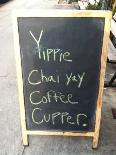 An eye catching street sign courtesy of the sassy folk of Van Leeuwen Ice Cream. @vlaic