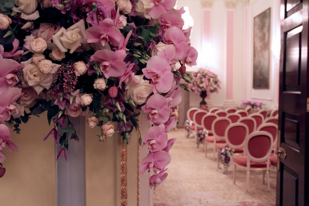 exotic wedding flowers