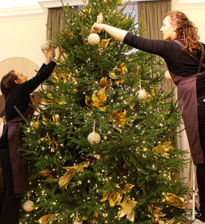Neill Strain team decorating trees.jpg