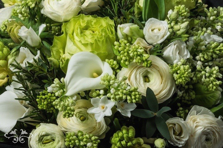 The Lush Botanical style is particularly effective for Spring weddings. Photo by John Nassari