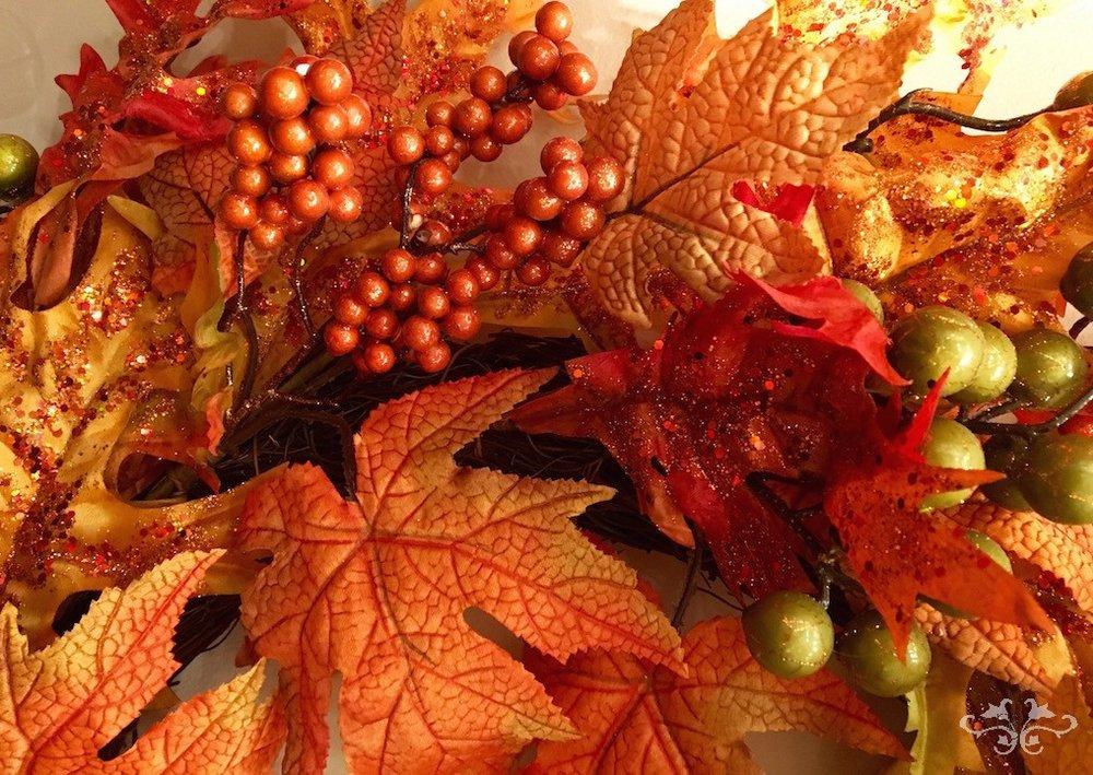 Autumn floral arrangements Neill Strain Belgravia