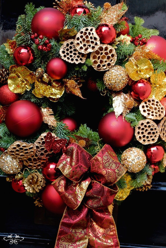 Luxury Christmas Door Wreaths Neill Strain London