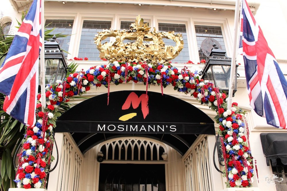 Neill Strain's award winning design for Mosimann's at the Belgravia in Bloom competition.