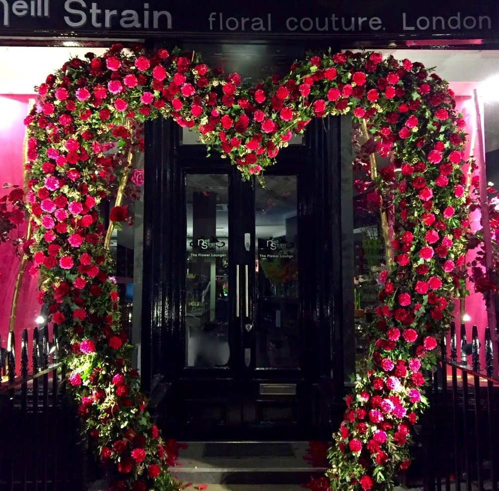 Neill Strain Valentine's Luxury Flowers London