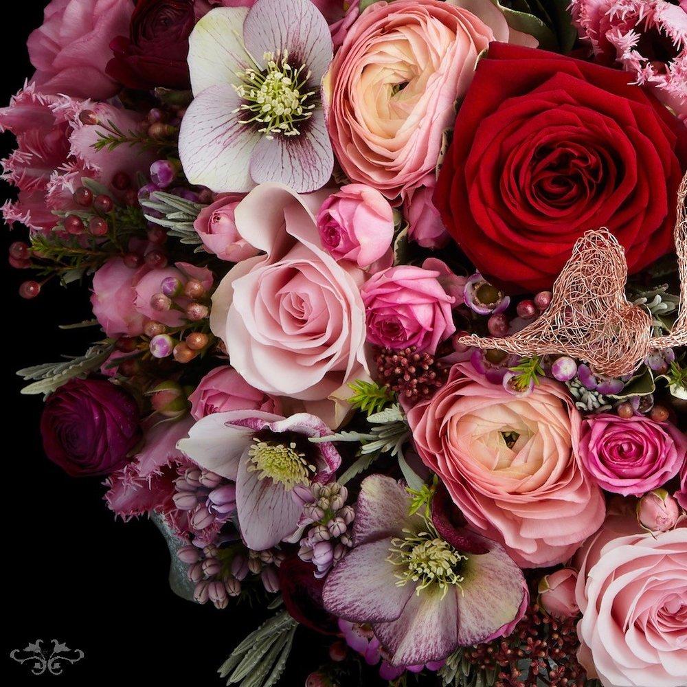 Rose bouquets for Valentine's Belgravia Neill Strain