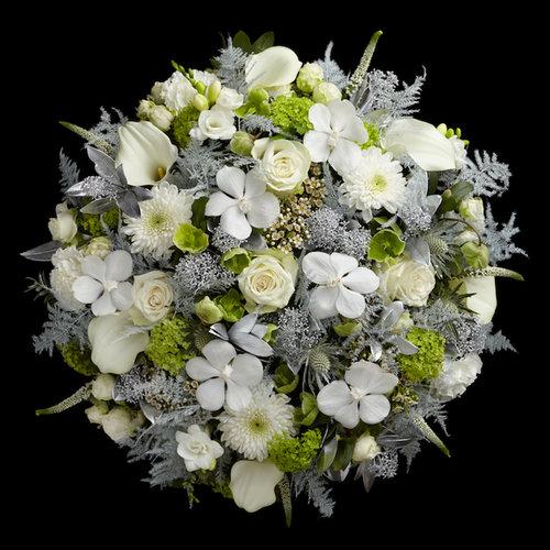 White christmas hand tied bouquet neill strain floral couture london white christmas hand tied bouquet mightylinksfo