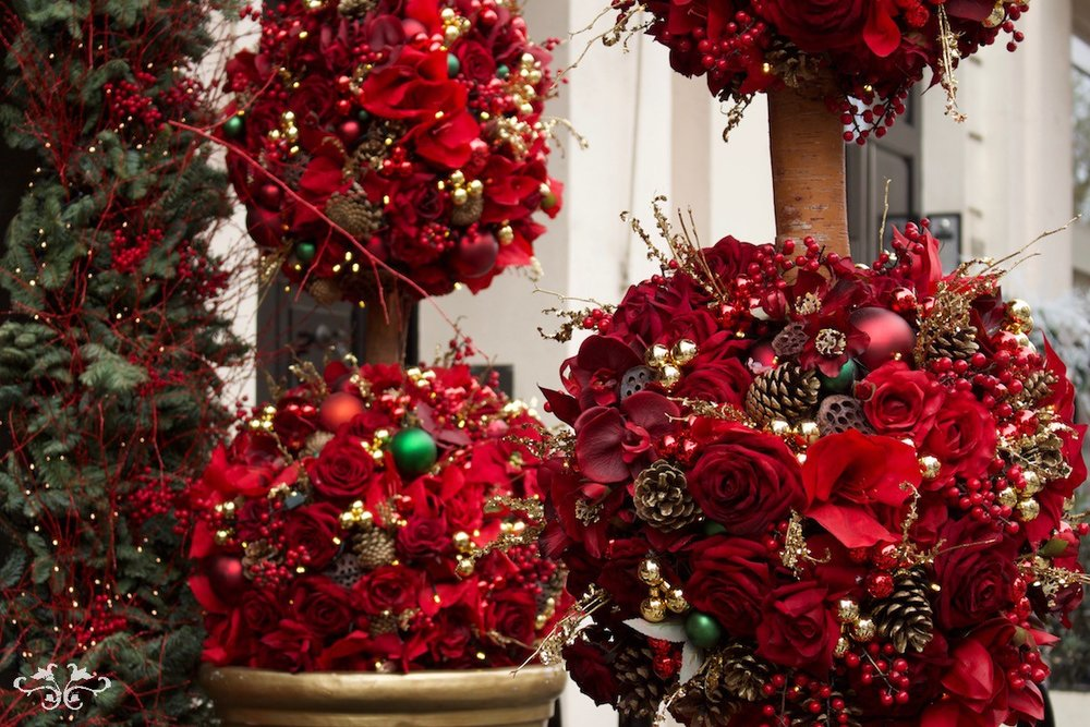 Christmas sphere design by Neill Strain Belgravia