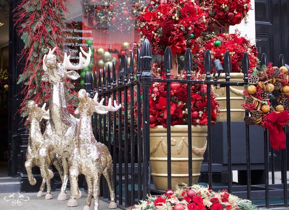 Christmas Reindeers by Neill Strain Belgravia