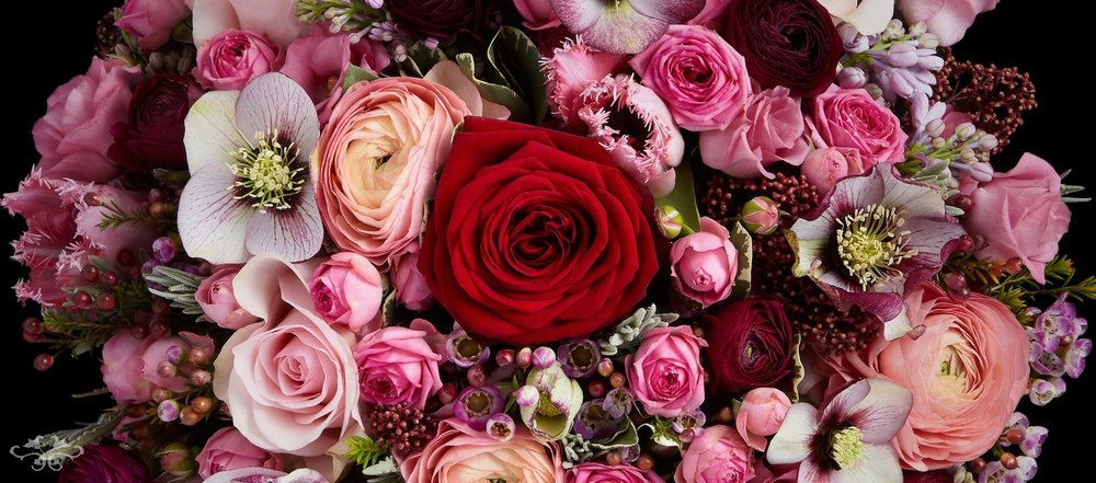 Luxury floral designs hand-crafted to celebrate Valentine's Day by Neill Strain Floral Couture London
