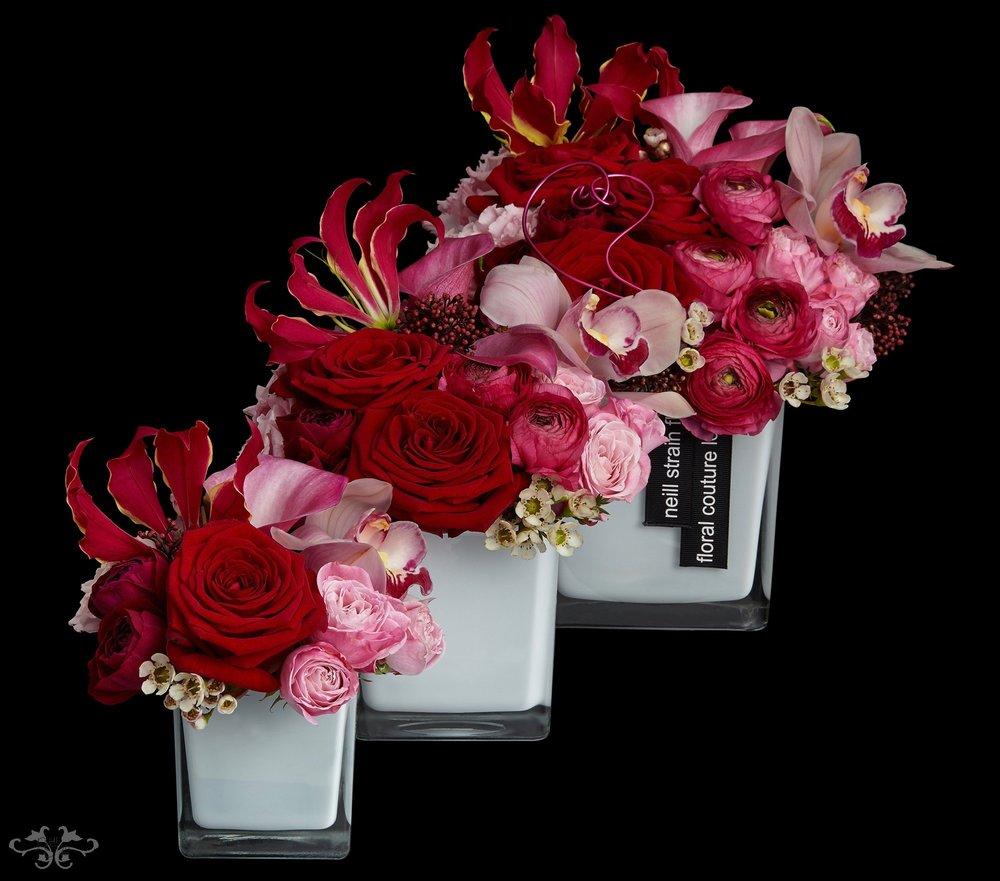 Petite Couture arrangements by Neill Strain London
