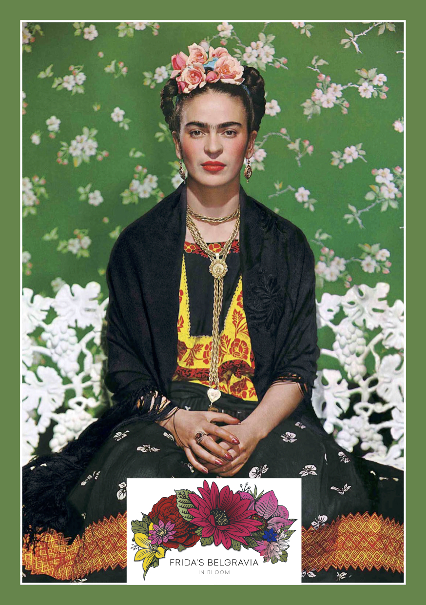 Frida Kahlo inspires Belgravia in Bloom