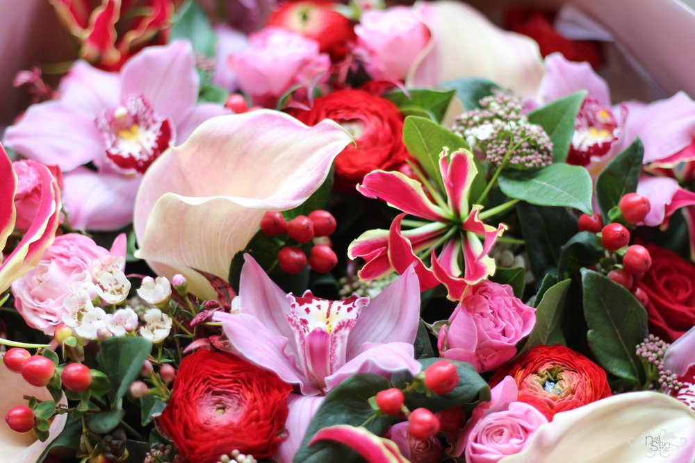 Luxury bouquets for Valentine's Day London