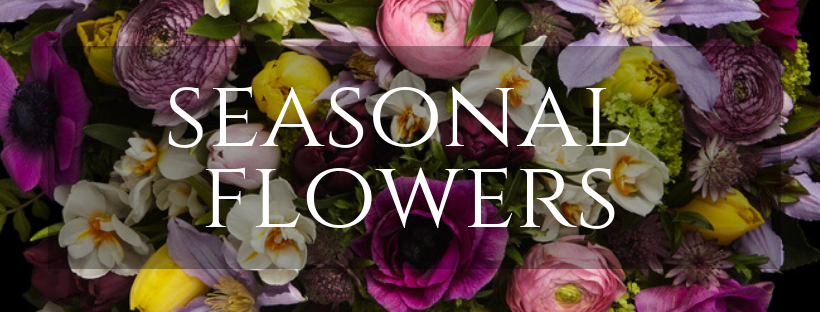 Order Online Seasonal Flowers, Bouquets and Arrangements