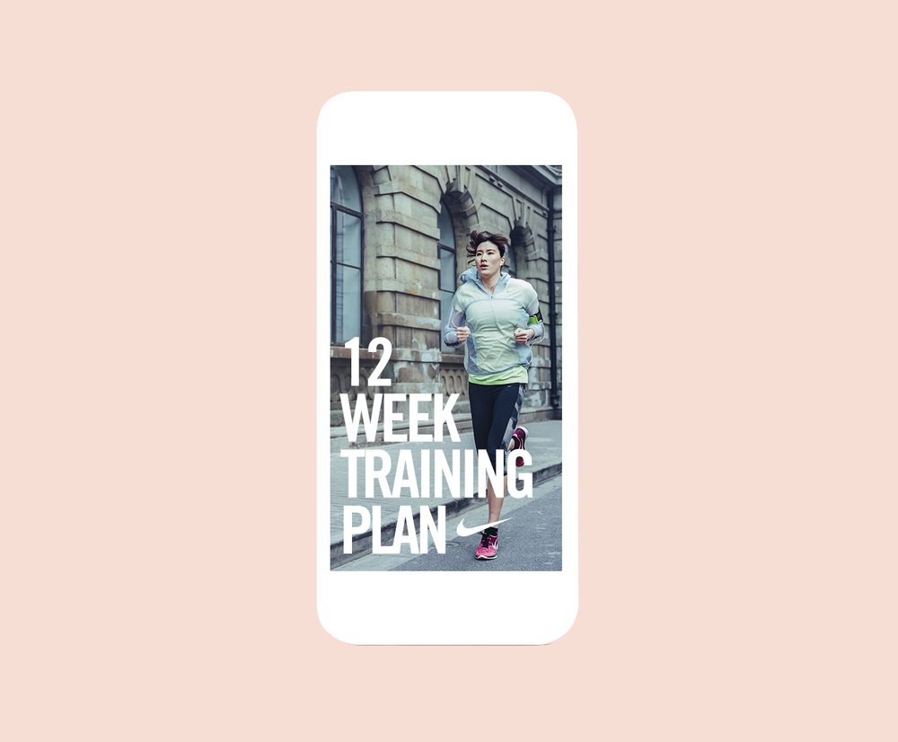 Nike Women 12 Week Training Plan