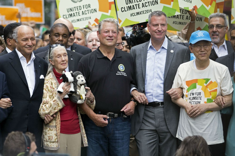 de Blasio greenhouse gas announcement
