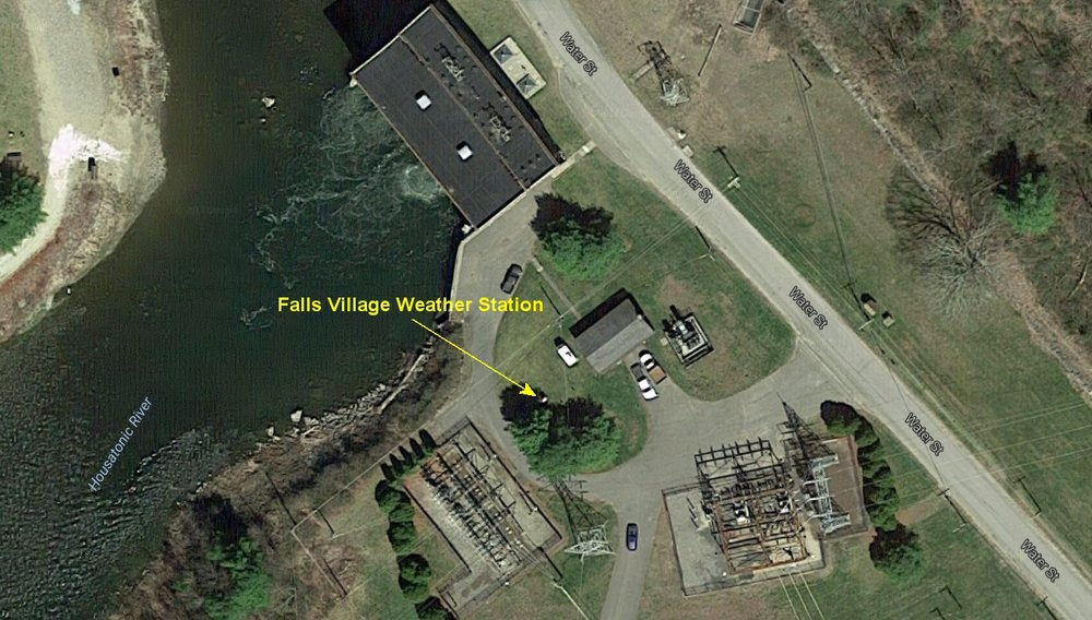 Falls Village aerial view