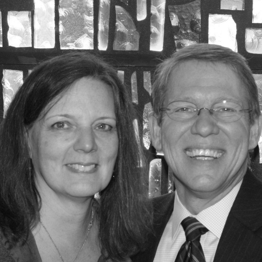 Pastor David Cummings and wife Martha