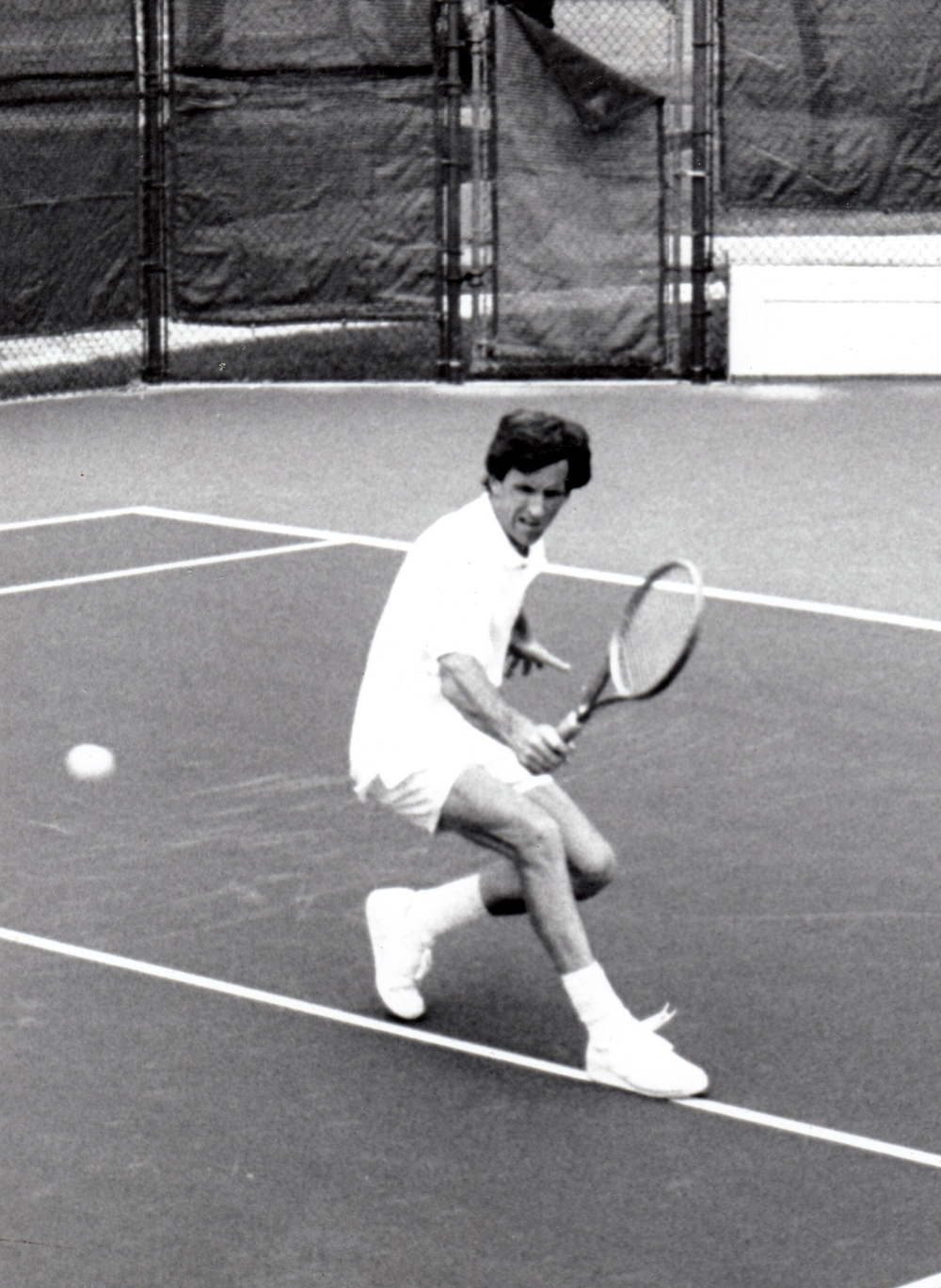 Paul discovered tennis as a teenager and it turned into a lifelong passion.