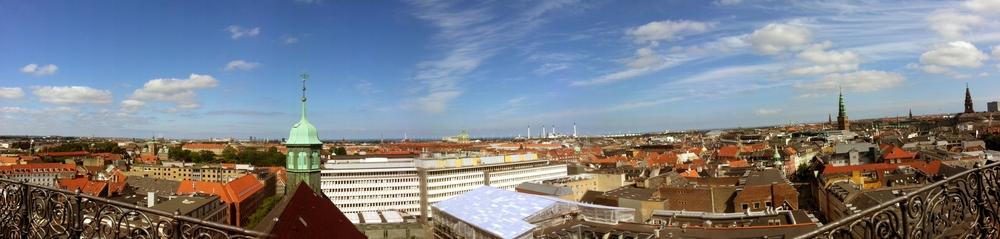 Copenhagen's Skyline