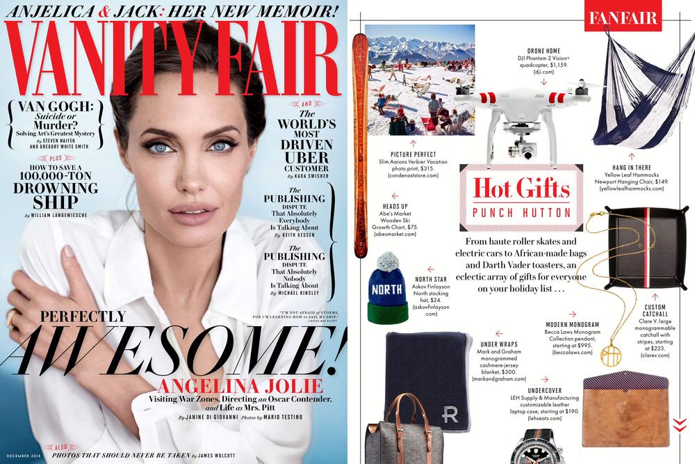 Vanity Fair, December 2014