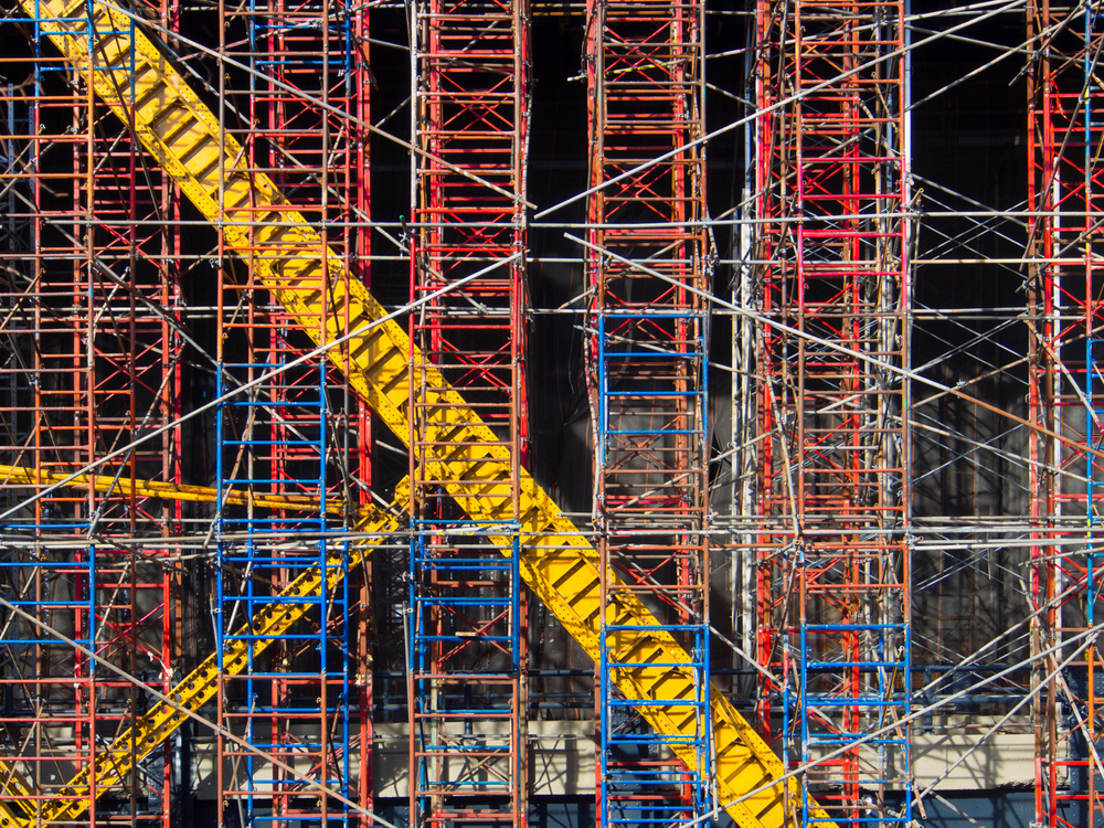 Scaffolding    2014 © John Virgolino.   View License Information.