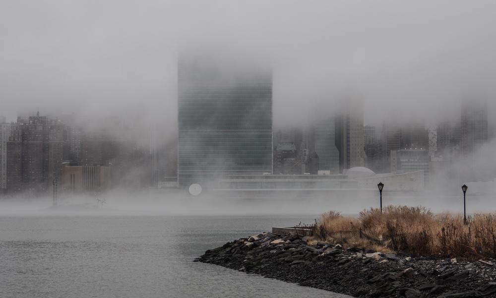 Foggy River2014 © John Virgolino.View License Information.