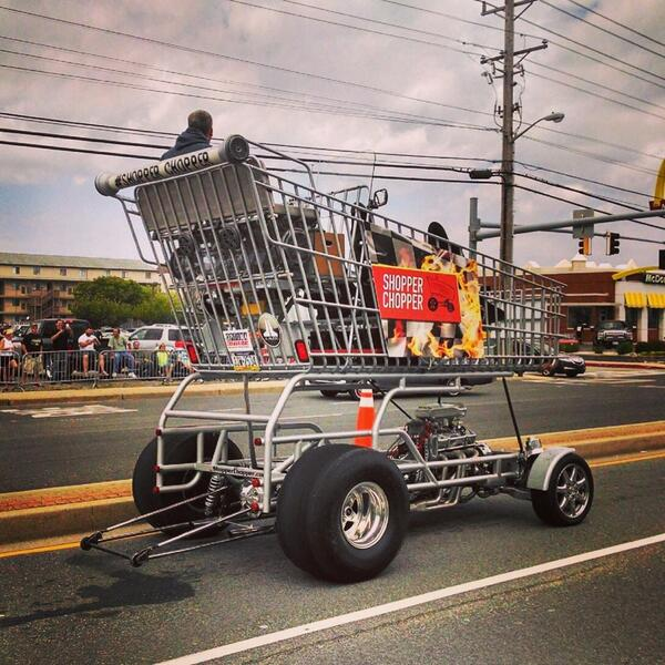 Our local news station profiled the builders of the cart for a Black Friday story, this clip was picked up by national new media.