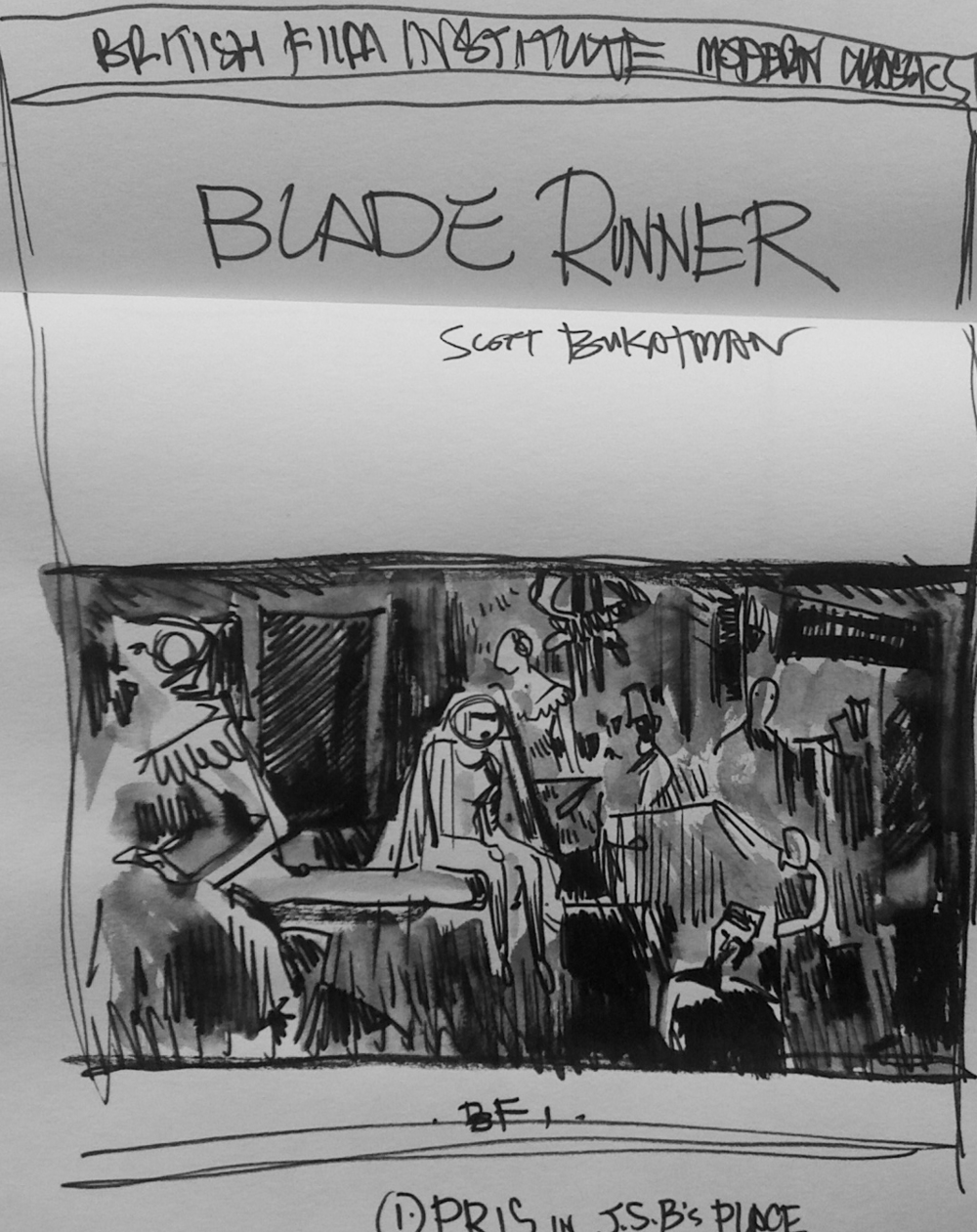blade runner critical essay Comparing empathy in blade runner and slaughterhouse-five essay example frankenstein/ blade runner essay more about comparing empathy in.