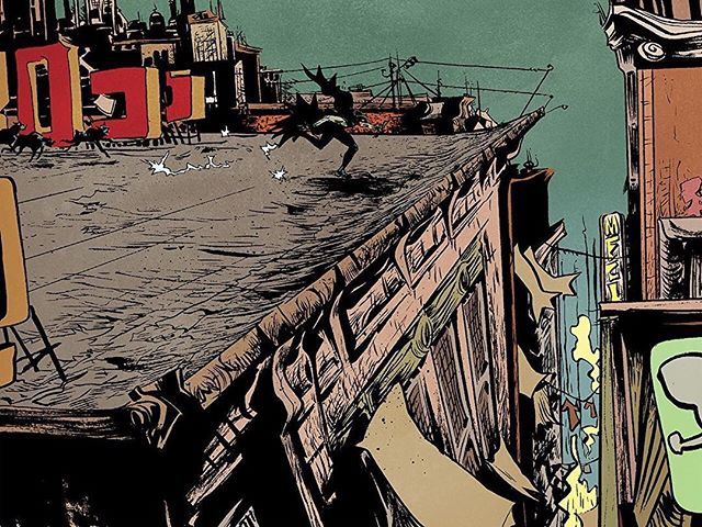 BMYR100/2006 #rooftop #gotham #batman @dccomics colors-- @villarrubia.jose