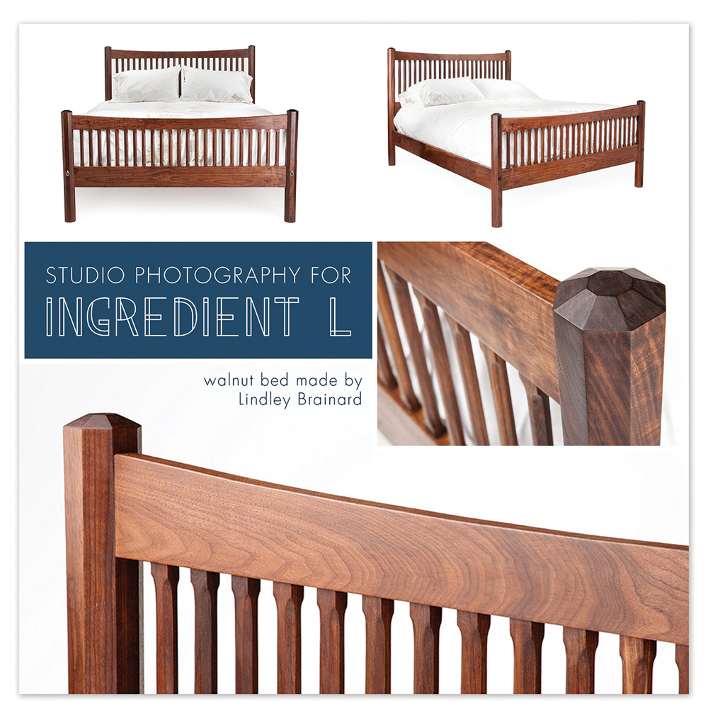 Studio Photography for Ingredient L, online retailer of handmade goods