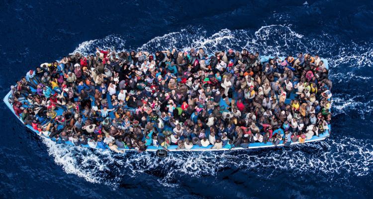 Photo: Italian Coast Guard/Massimo Sestini