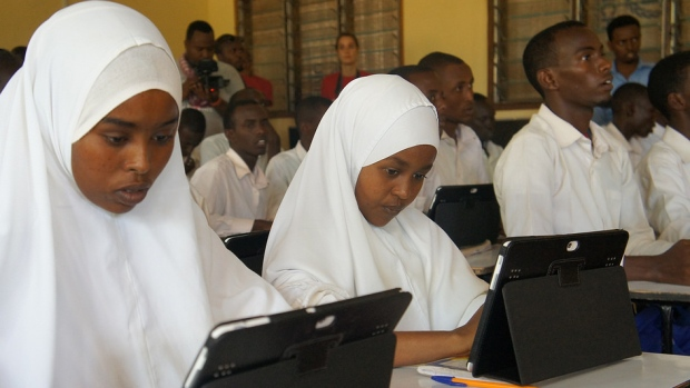 Photo: Vodafone Foundation/UNHCR Dadaab