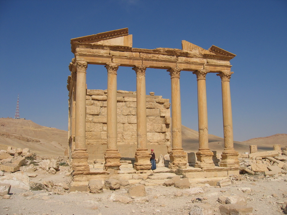 Peristyl House in Palmyra, Syria.  (Licensed under CC BY-SA 2.5 via Commons - http://bit.ly/1K17sDn)