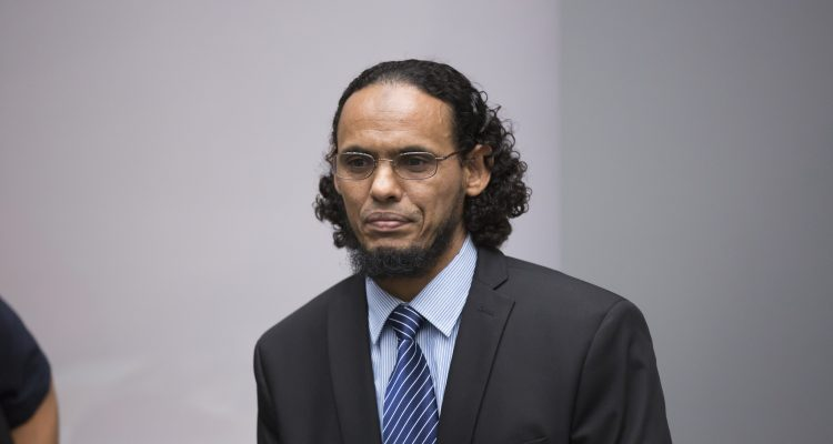 Ahmad Al Faqi Al Mahdi at the opening of his trial © ICC-CPI