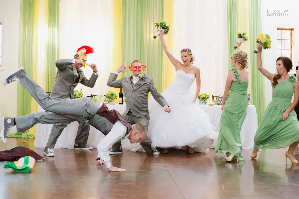 harlem-shake-wedding-party-reception-entance-flower-farm-inn-sacramento-loomis.jpg