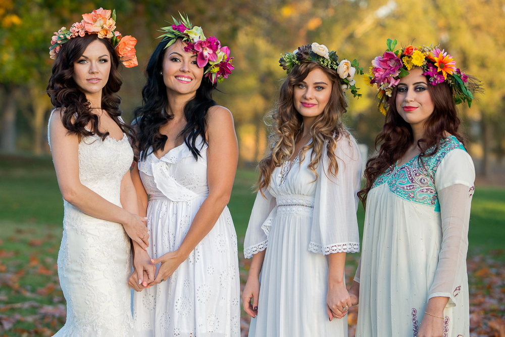 flower-crowns-beautiful-designs-ladies-wedding-dress