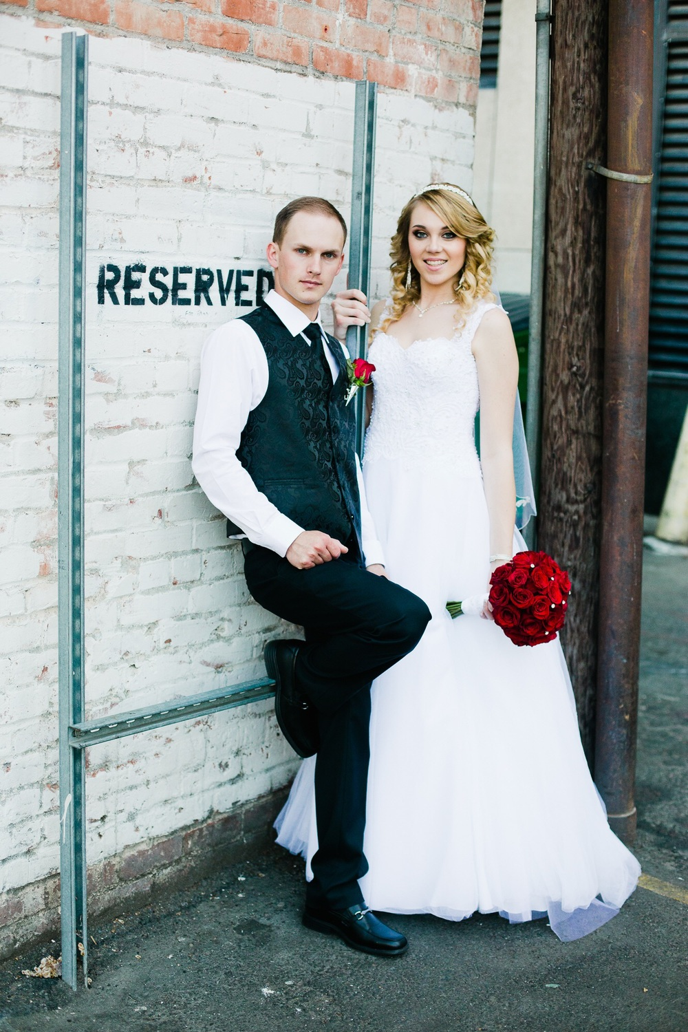 "Sacramento Downtown wedding photography. ""Reserved"""