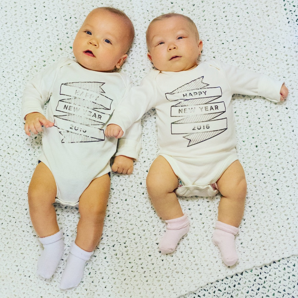 twin-babies-boy-girl-happy-new-year-2016