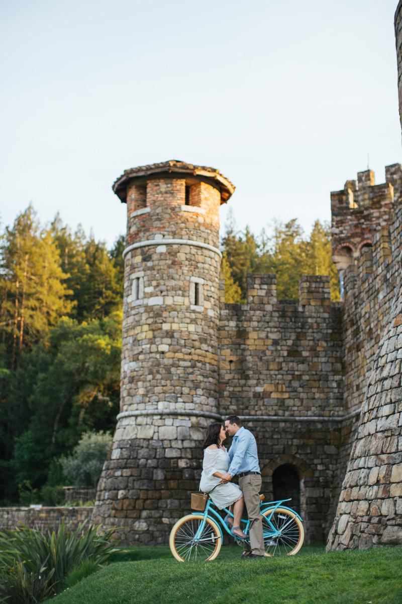 castello di amorosa napa engagement