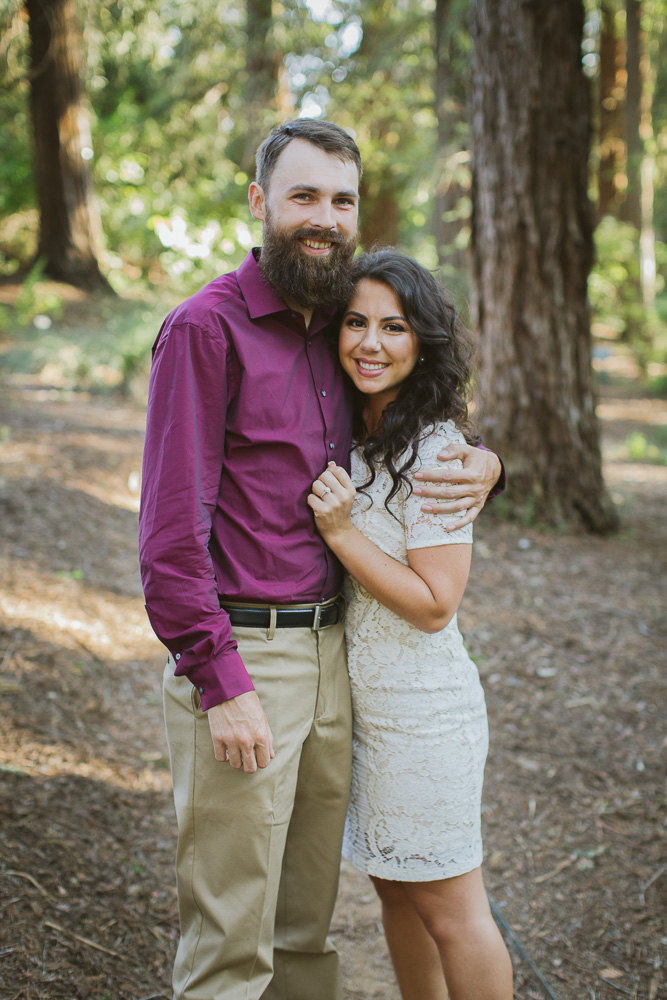 UC Davis arboretum redwoods engagement session.jpg