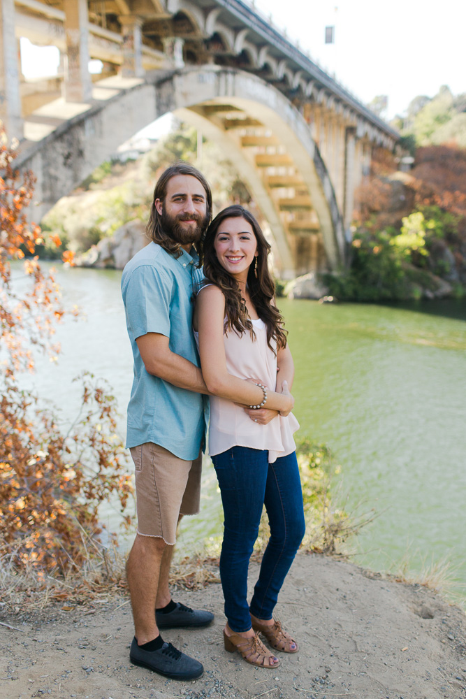 Historic Folsom Rainbrow Bridge Engagement.jpg