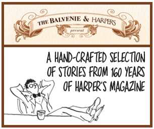 Inviting, clever advertising via  Harper's  and  Balvenie .