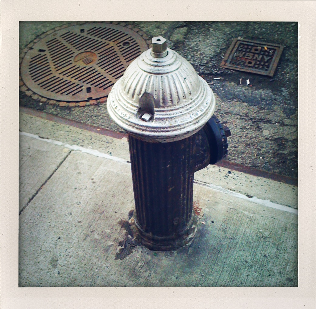 Greenwich Village doesn't care about red fire hydrants.
