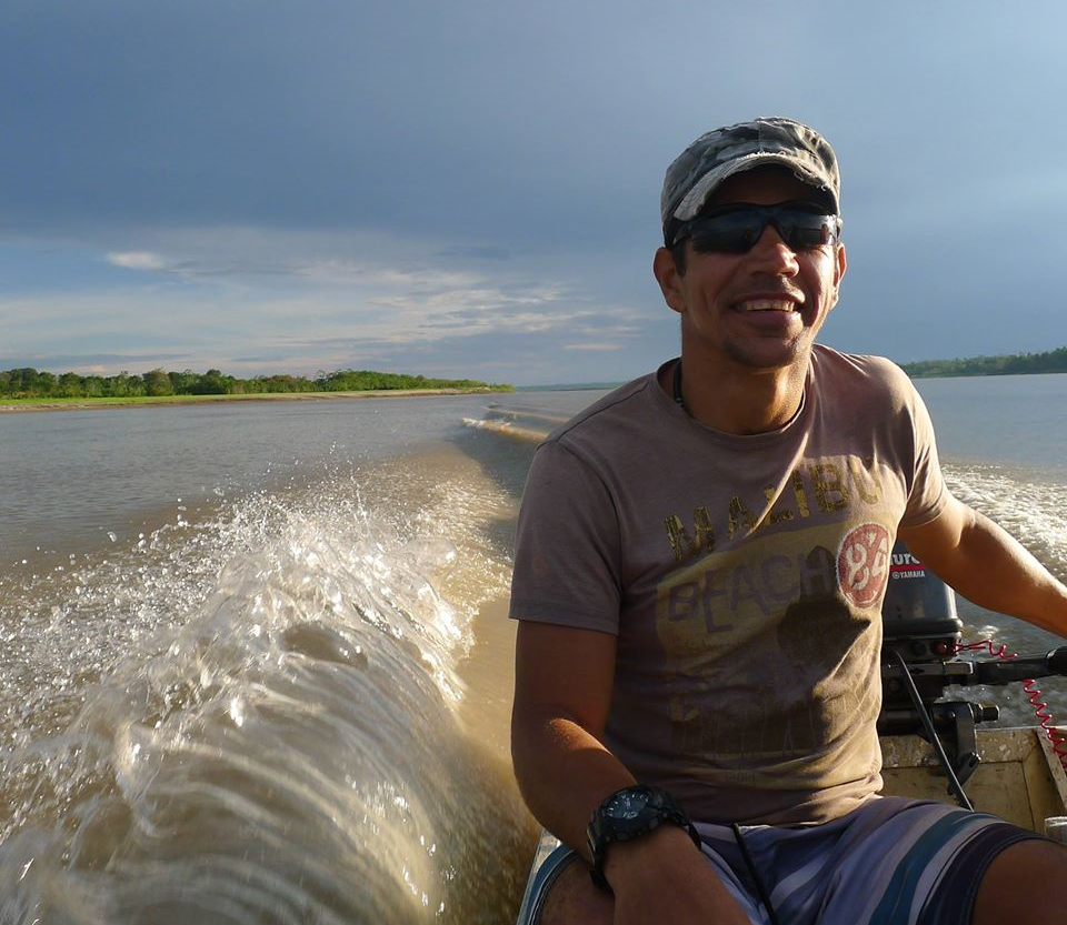 Murilo Reis (aka Katoo), director of the Tapiche Reserve