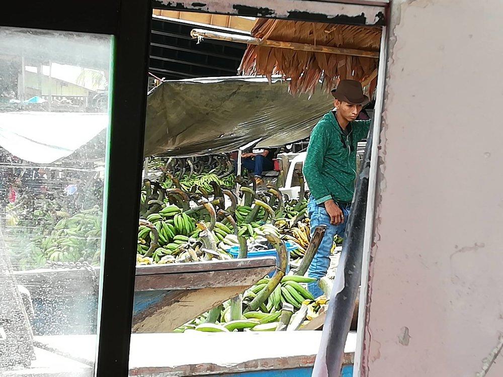Plantain vendor